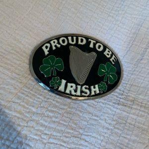 🍀 Proud to be Irish belt buckle🍀